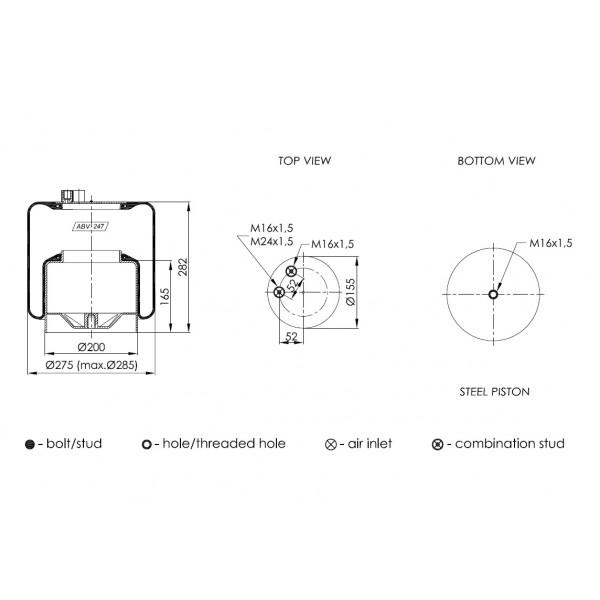 ABV247-B-02 ΑΕΡΟΦΟΥΣΚΑ NEOTEC (4390ΝΡ02)