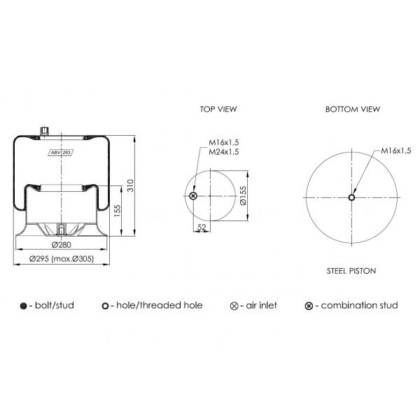 ABV263-A-02 ΑΕΡΟΦΟΥΣΚΑ NEOTEC (4757ΝΡ09)