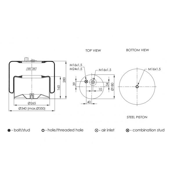 ABV295-F01 ΑΕΡΟΦΟΥΣΚΑ NEOTEC (4183NP24)